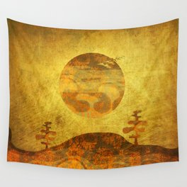 Totems Wall Tapestry
