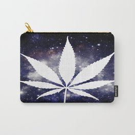 Weed : High Times Navy Blue Galaxy Carry-All Pouch