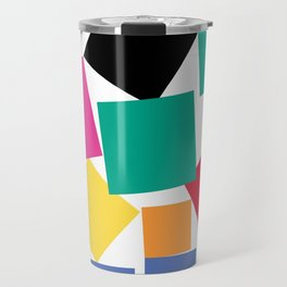 Square Elephant Travel Mug