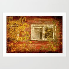 Window to the Past Art Print
