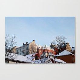 Bakklandet Canvas Print