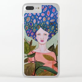 claire Clear iPhone Case