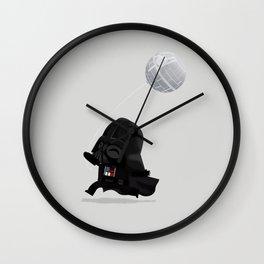 Beware, the Darth Star Wall Clock