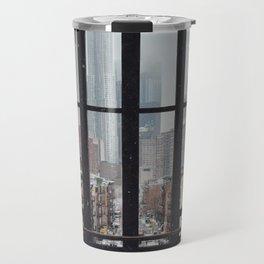 New York City Window Travel Mug