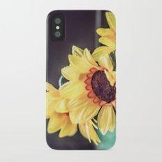 Sunflowers in my kitchen Slim Case iPhone X