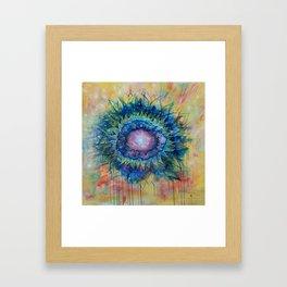 Solaris Flower - Andrew Kaminski Art - Acrylic Painting Framed Art Print