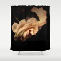 rose Shower Curtains featuring Rose by Christine Belanger