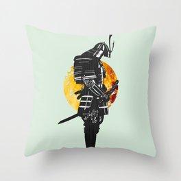 Samurai showdown Throw Pillow