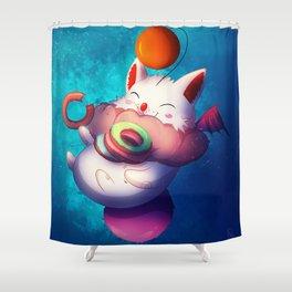 Moguri with Donut Shower Curtain