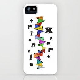Vamenessia - triangle xpert iPhone Case