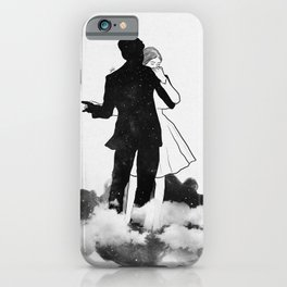 Peaceful dance. iPhone Case