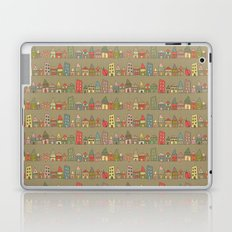 City {Housylands - brown} Laptop & iPad Skin