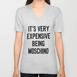 its very expensive Unisex V-Neck