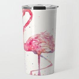 A Flamingos Fancy Travel Mug