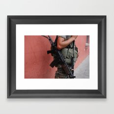 What Are We Fighting For? Framed Art Print