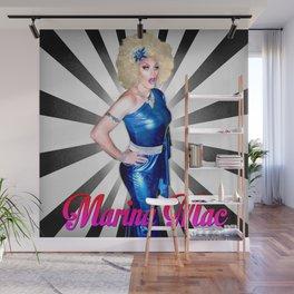 Marina Mac Sunburst B&W Wall Mural