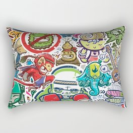 Kampu Kids Rectangular Pillow