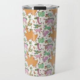 Funky Critter Pattern Travel Mug