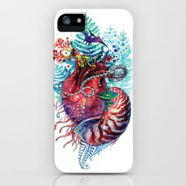 Ancient Heart iPhone Case