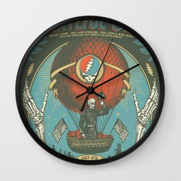 Around the sky with the deads Wall Clock