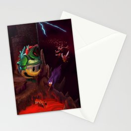The Dystopian King (Bowser) Stationery Cards