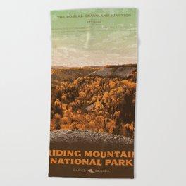 Riding Mountain National Park Beach Towel