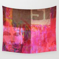 usa Wall Tapestries featuring USA by Fernando Vieira