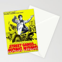 Street Gangs of Hong Kong Stationery Cards