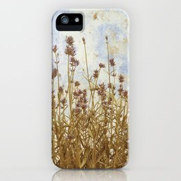 Herbage iPhone Case
