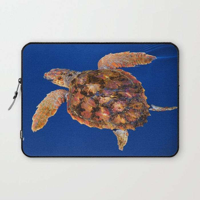 Loggerhead sea turtle Laptop Sleeve