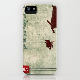Don't be shy... iPhone Case