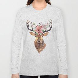 Winter Deer 3 Long Sleeve T-shirt