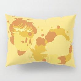 Fire Kirby Pillow Sham