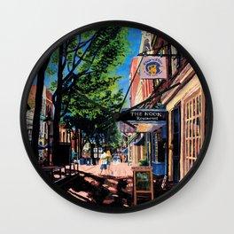 Lovers, C-ville, VA Wall Clock