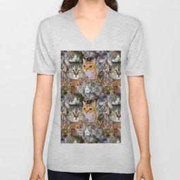 CATS!  Unisex V-Neck