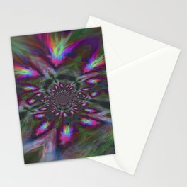 7th dimension - Midnight flower Stationery Cards