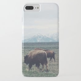 Roaming Buffalo iPhone Case