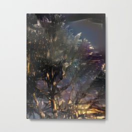 Starry Night Tree Metal Print