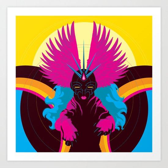 Chimera Cyborgia Art Print