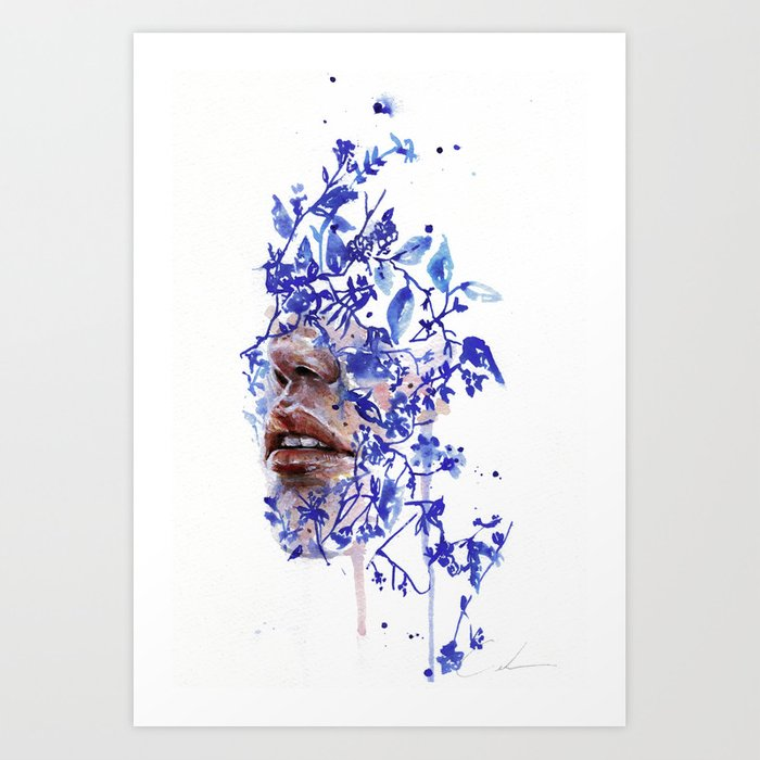 Discover the motif GARDEN VII by Agnes Cecile as a print at TOPPOSTER