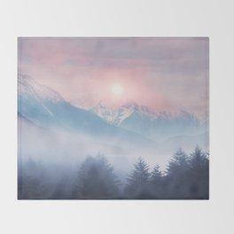 Pastel vibes 11 Throw Blanket