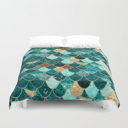 REALLY MERMAID Duvet Cover