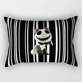 Halloween Prisoner   Jack   Christmas   Nigthmare Rectangular Pillow