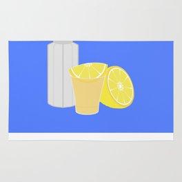 Salt, lemon and tequila Rug