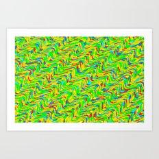 The rhythm of Liege Art Print