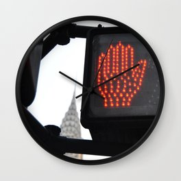 NY Traffic Light Wall Clock