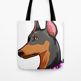 Doberman Pinscher Dog Puppy Present Dobermann Tote Bag