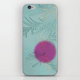 purple sun iPhone Skin