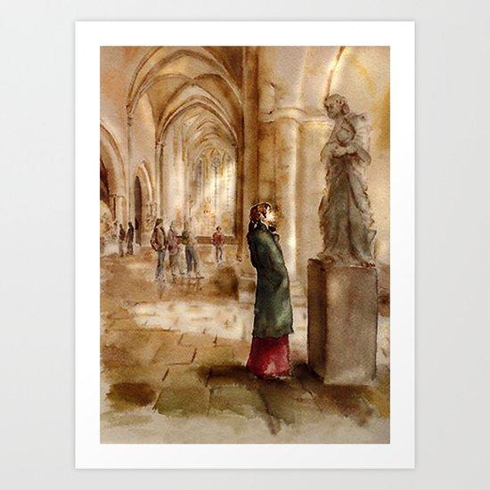 In the Church Art Print