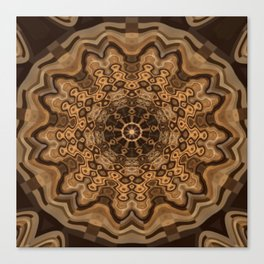 Sequential Baseline Mandala 33 Canvas Print